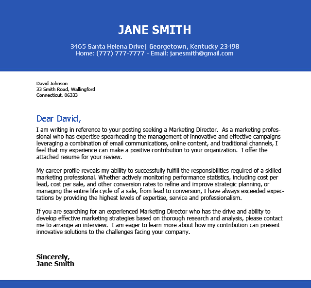 capital campaign director cover letter - Template